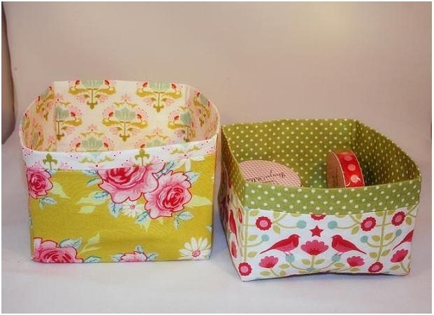 Коробка для игрушек из ткани