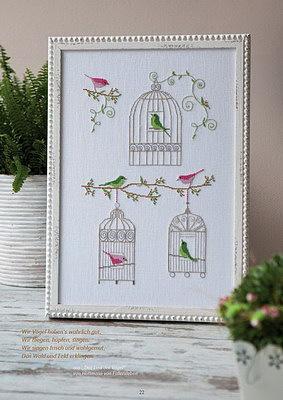 Птички в клетках. Схемы вышивки (7) (283x400, 95Kb)