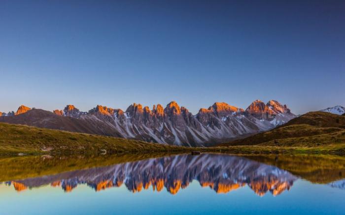 отражение в воде природа 21 (700x437, 240Kb)