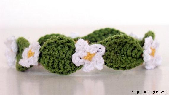 Flower Bracelet (570x321, 82Kb)