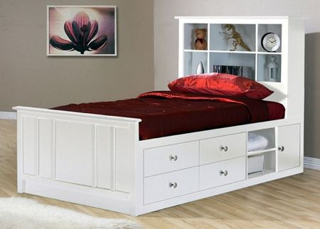 Bedroom storage systems