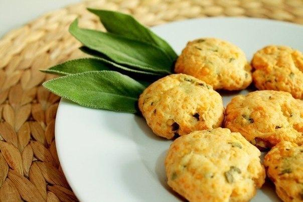 Сырное печенье с шалфеем (604x403, 51Kb)