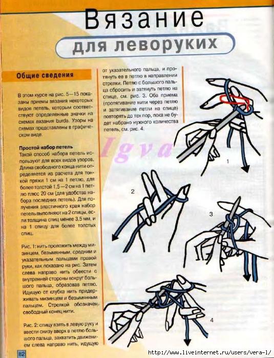 Burda special - E804 - 2004_RUS - Учимся вязать на спицах_81 (535x700, 327Kb)