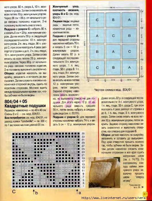 Burda special - E804 - 2004_RUS - Учимся вязать на спицах_86 (530x700, 400Kb)