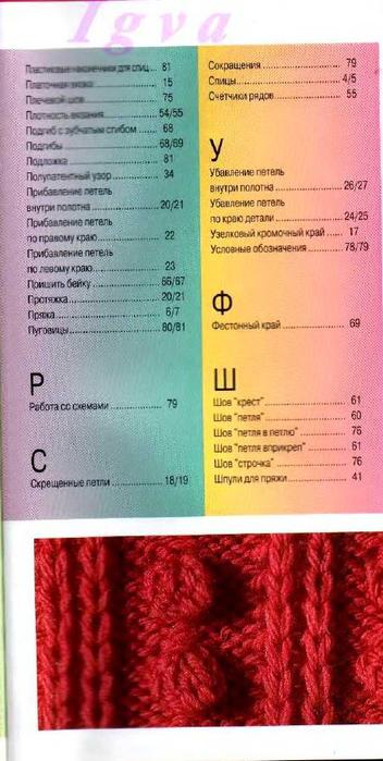 Burda special - E804 - 2004_RUS - Учимся вязать на спицах_98 (352x700, 280Kb)