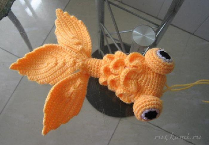 вязаная рыбка - Самое