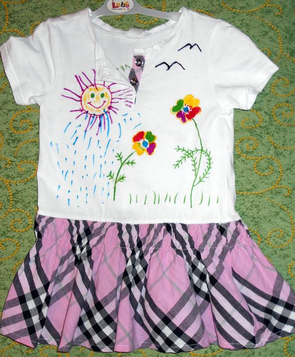 что такое фломастеры по ткани, что такое фломастры для рисования по одежде. что можно нарисовать на одежде, как украсить белую футболку, рисунки на одежде фломастарами,