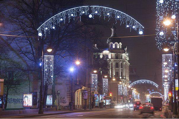 Новогодняя иллюминация Санкт-Петербурга3 (604x403, 247Kb)
