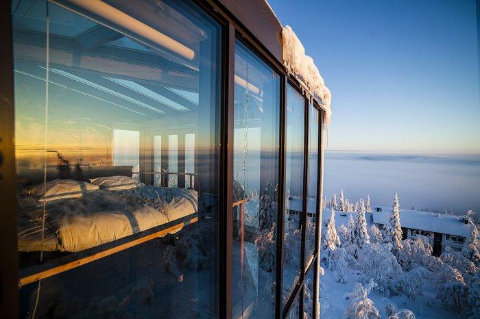 отдых в финляндии отель Eagle View Suite 3 (700x466, 273Kb)