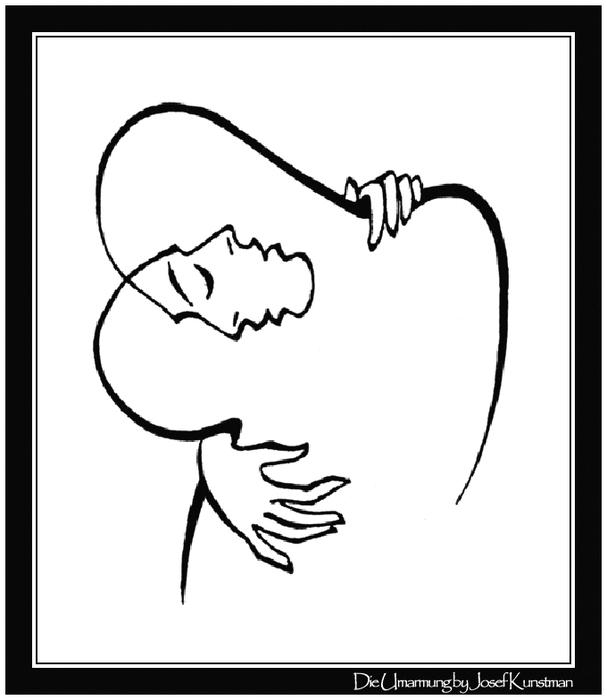 Die Umarmung by Josef Kunstmann (607x700, 88Kb)