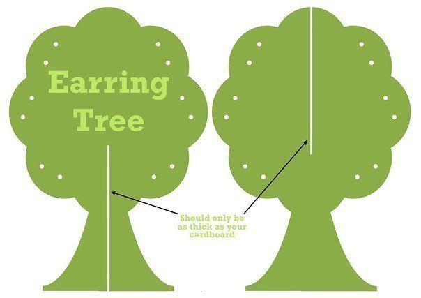 Трафареты деревьев своими руками шаблоны