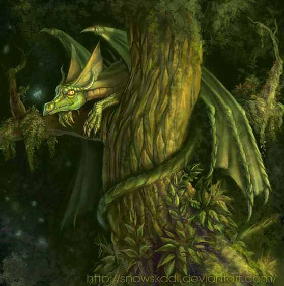3977620_Forest_spirit_by_SnowSkadi (558x561, 103Kb)