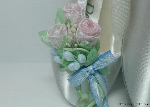 Цветы из ткани для украшения туфелек (18) (570x407, 93Kb)