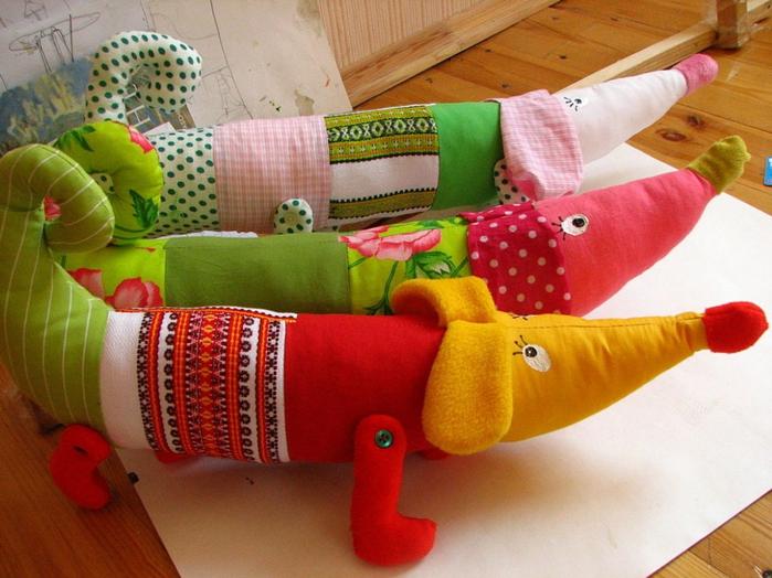 Мягкие игрушки своими руками для интерьера