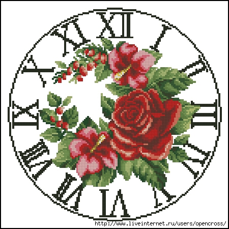 Clock_Rose (450x450, 167Kb)