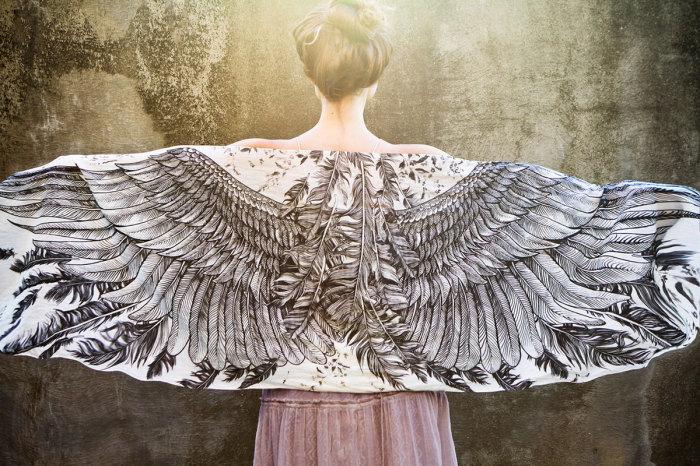 красивые женские платки 3 (700x466, 377Kb)