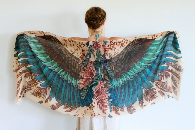 красивые женские платки 7 (650x433, 300Kb)