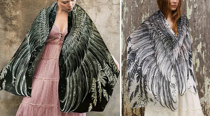 красивые женские платки 10 (700x386, 361Kb)