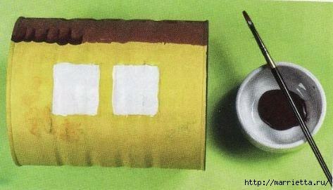 Сказочный паровозик из крышек и железных банок (3) (473x271, 69Kb)
