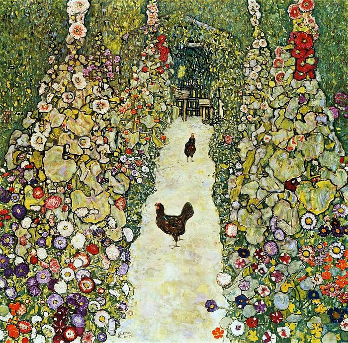 Густав Климт. Цветы, сады и
