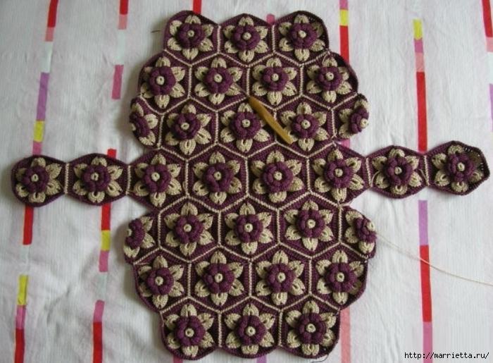 Цветочная сумочка крючком (4) (700x515, 285Kb)