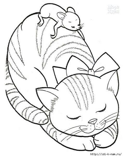 Трафарет Кошка На Окне