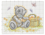 ������ TT With Flower Basket_chart (700x551, 546Kb)