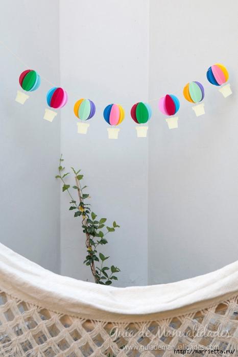 Яркая гирлянда с бумажными воздушными шарами (17) (466x700, 190Kb)