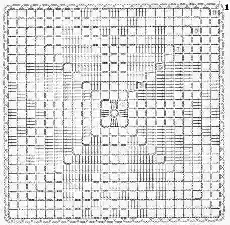 shema-vjazanija-chehla-na-podushku (457x447, 151Kb)