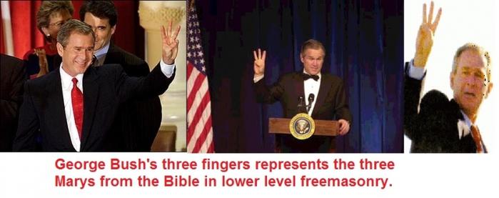 George Bush mary worshipper (700x277, 138Kb)