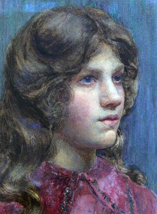 Portrait of a young lady (514x700, 411Kb)