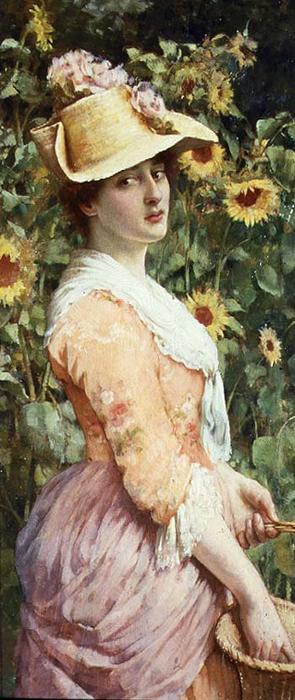 The Gardener's Daughter (295x700, 260Kb)