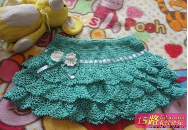 Ажурная юбочка крючком для девочки (6) (600x416, 202Kb)