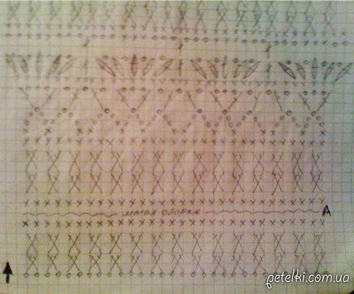 Юбка Пагода от Ванессы Монторо. Схемы5 (700x581, 392Kb)