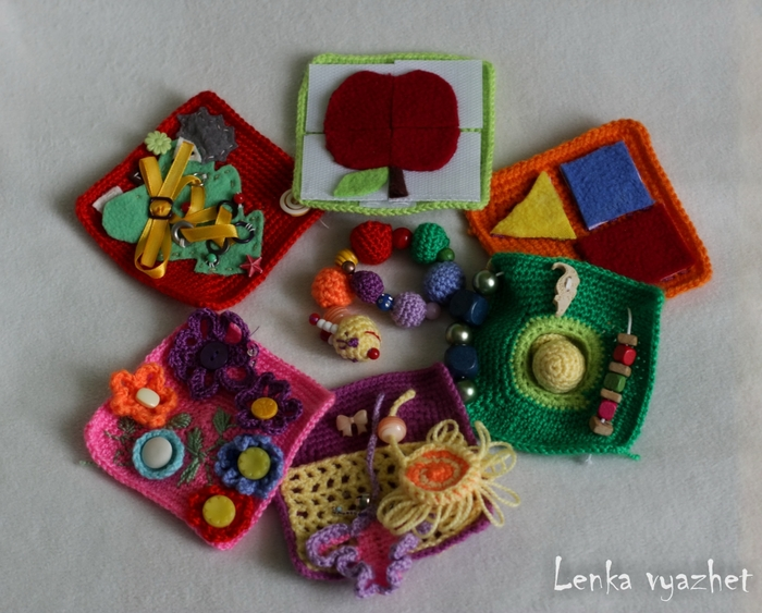 Мастер класс развивающая игрушки своими руками для детей до года