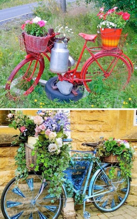 24-Creative-Garden-Container-Ideas-Bicycle-Planters-2 (438x700, 451Kb)
