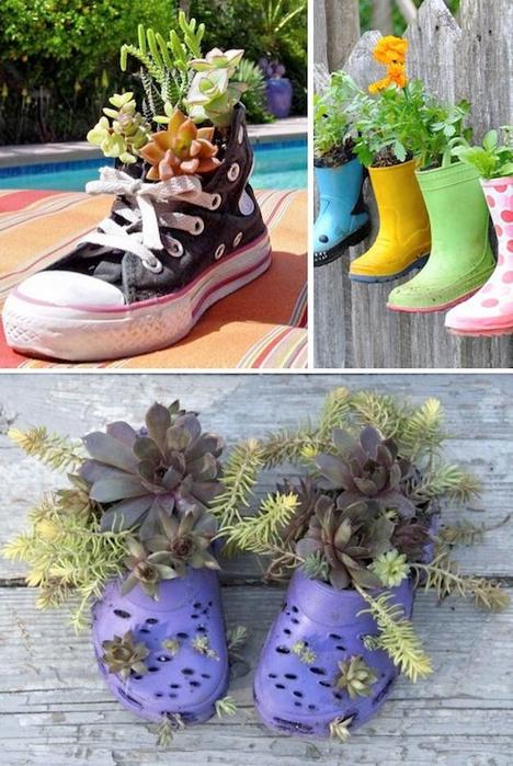 24-Creative-Garden-Container-Ideas-Shoe-planters-1 (468x700, 400Kb)