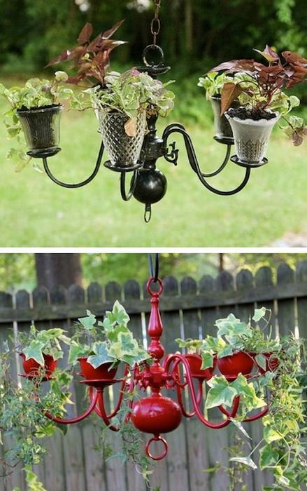 24-Creative-Garden-Container-Ideas-Chandelier-planters-15 (439x700, 371Kb)
