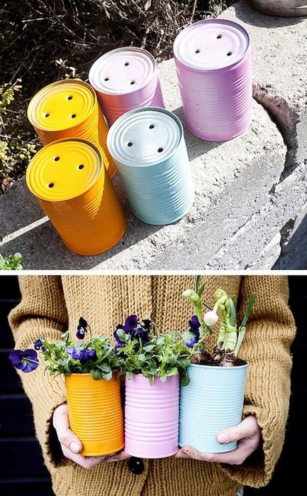 24-Creative-Garden-Container-Ideas-Tin-can-planters-14 (433x700, 404Kb)