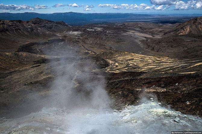 национальный парк Тонгариро Новая Зеландия 2 (670x446, 296Kb)