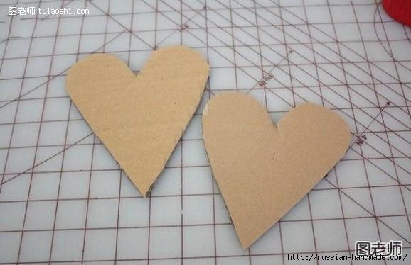 ВАЛЕНТИНКА из картона и гофрированной бумаги (3) (578x374, 95Kb)