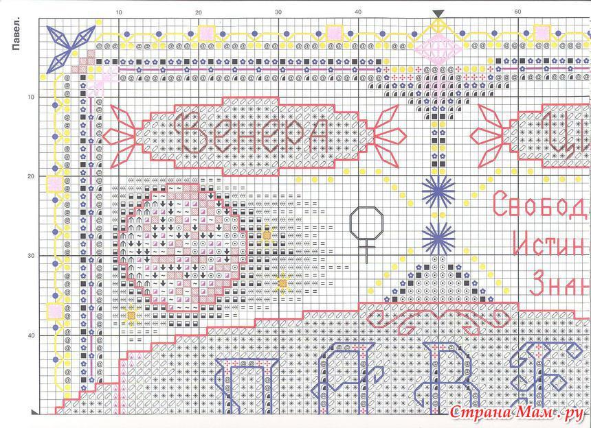 Схемы для вышивки панна оберег 18