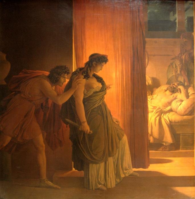 Gérin_Clytemnestre_hésitant_avant_de_frapper_Agamemnon_endormi_Louvre_5185 (685x700, 246Kb)