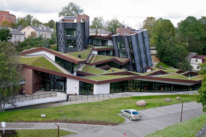 современная архитектура молодежный центр Zeimuls 4 (700x465, 461Kb)