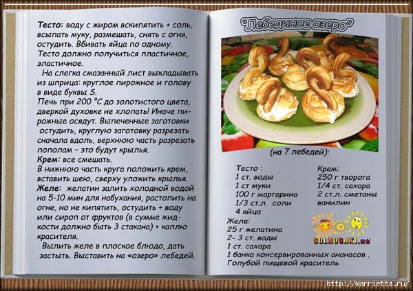 Рецепты блюд с песочного теста