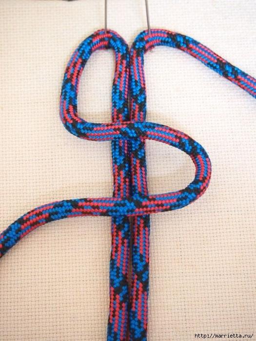 Плетение коврика из веревки (2) (525x700, 304Kb)