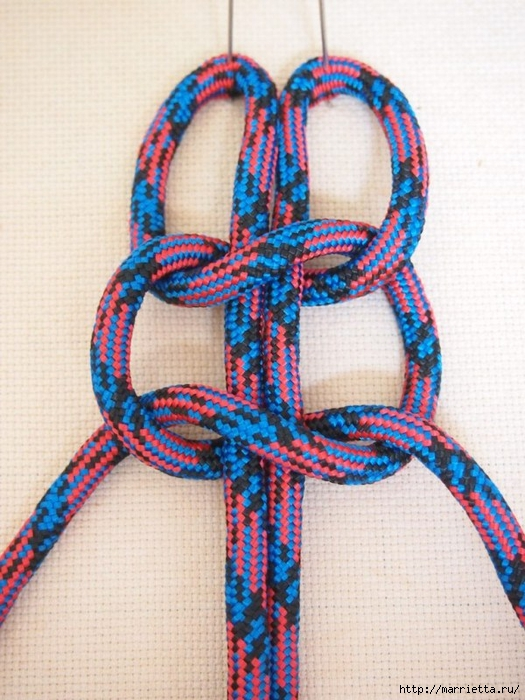 Плетение коврика из веревки (3) (525x700, 298Kb)