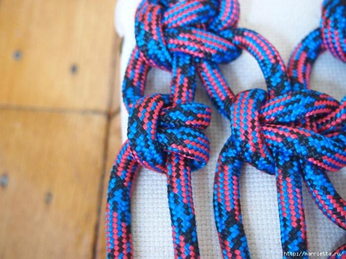 Плетение коврика из веревки (8) (700x525, 293Kb)