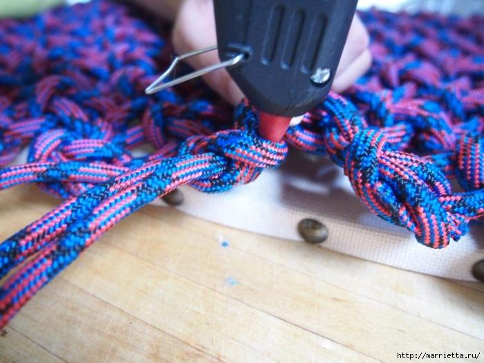 Плетение коврика из веревки (11) (700x525, 283Kb)
