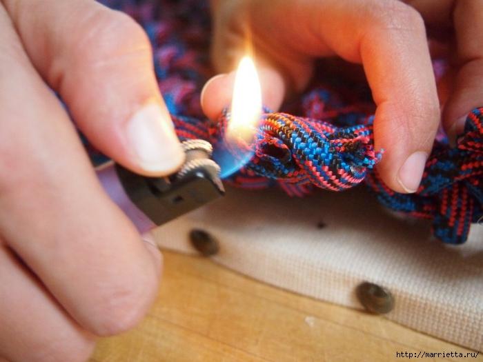 Плетение коврика из веревки (14) (700x525, 223Kb)